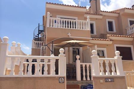 Spanish villa close to golf area - San Miguel de Salinas