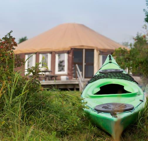 Mazelton Yurt