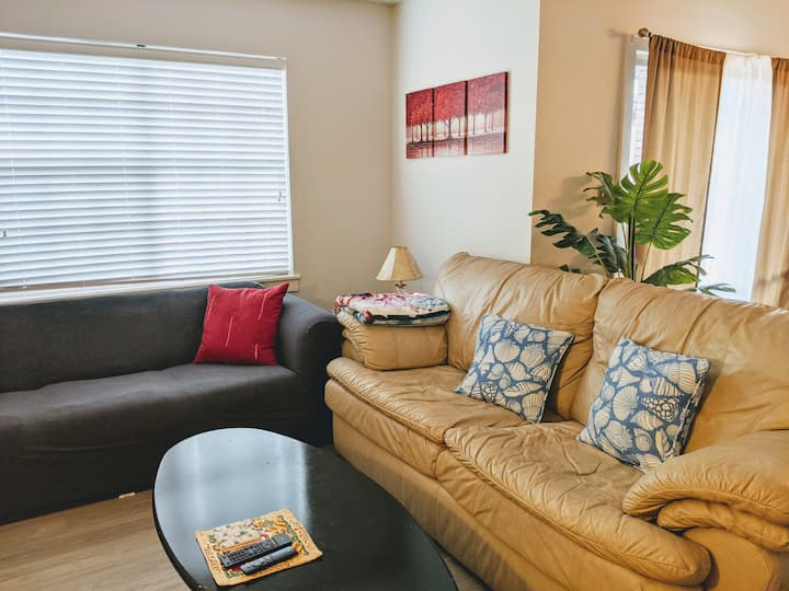 Quiet and comfy apartment few steps from UAB