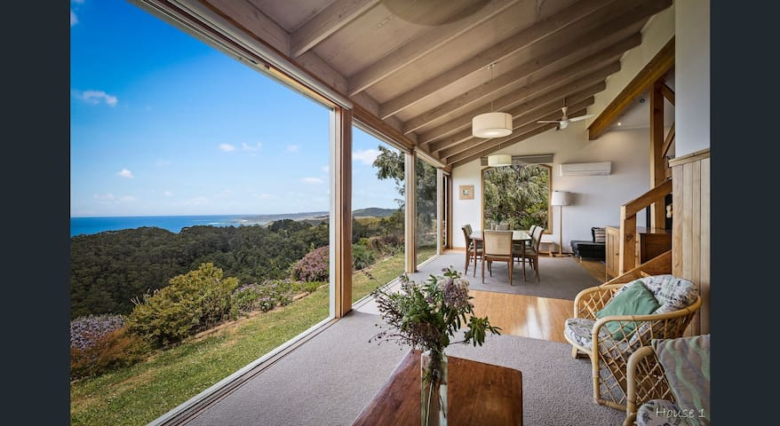 The Eyrie: 180 degrees of gorgeous sea views