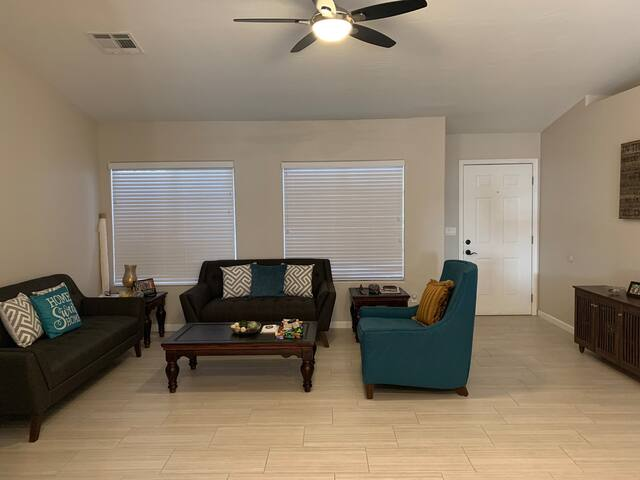 Master bedroom with bath near Chandler Downtown.