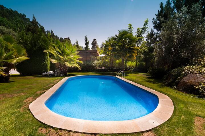Casa da Ameixa - turismo rural Guimarães - Vizela - บ้าน