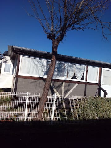Bungalow Rosa , en zona residencial de camping de - Santillana del Mar - Bungalow