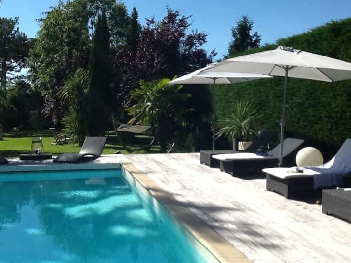Maison de charme avec piscine privée