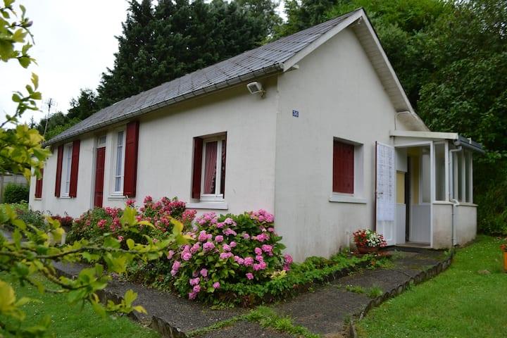 Maison calme et chaleureuse à proximité de Dieppe