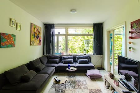 Large appt Rotterdam 'Happy Village' + office - Rotterdam - Apartment