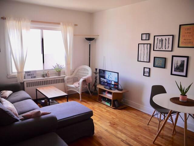 Appartement lumineux et tranquille dans Villeray