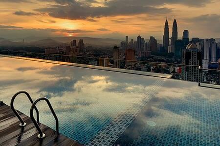 KL City - Travellers Hut, 2Room Entire Home 4-6pax - Kuala Lumpur