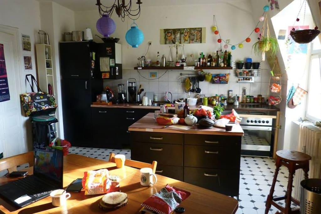 Die Küche im 3.OG