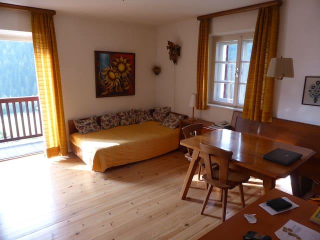Alloggio panoramico nelle Dolomiti - Nova Levante - อพาร์ทเมนท์
