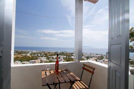 Panoramic View of the Sea-Twin Beds - Kamari - Bed & Breakfast