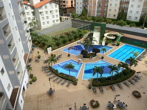 Flat 120 Veredas - 300m2 Hot Park