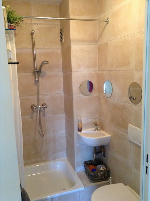 La salle douche