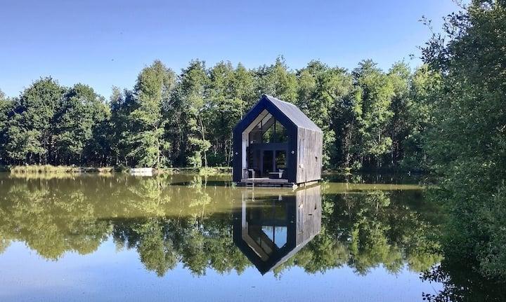 Hermione Cabane Insolite sur l'eau, Crach Morbihan