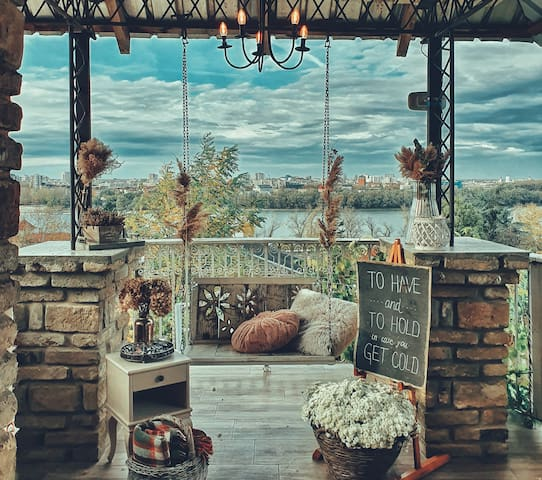 Novi Sad, RUSTIC HOUSE WITH A MILLION DOLLAR VIEW!