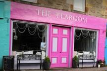 The Tearoom in Tighnabruaich Village.