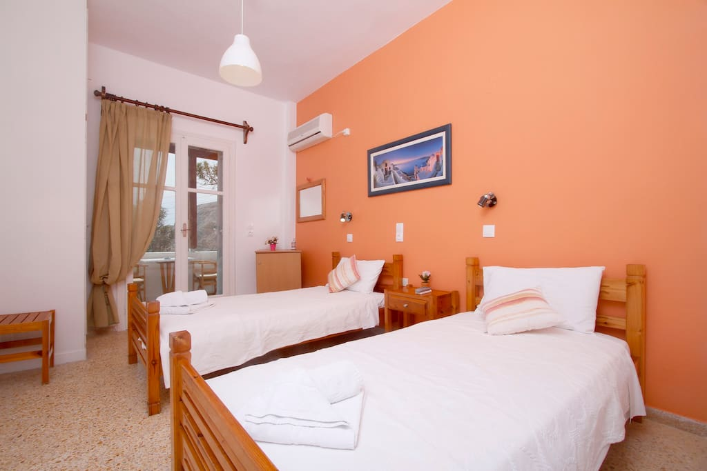 Panoramic View of the Sea-Twin Beds
