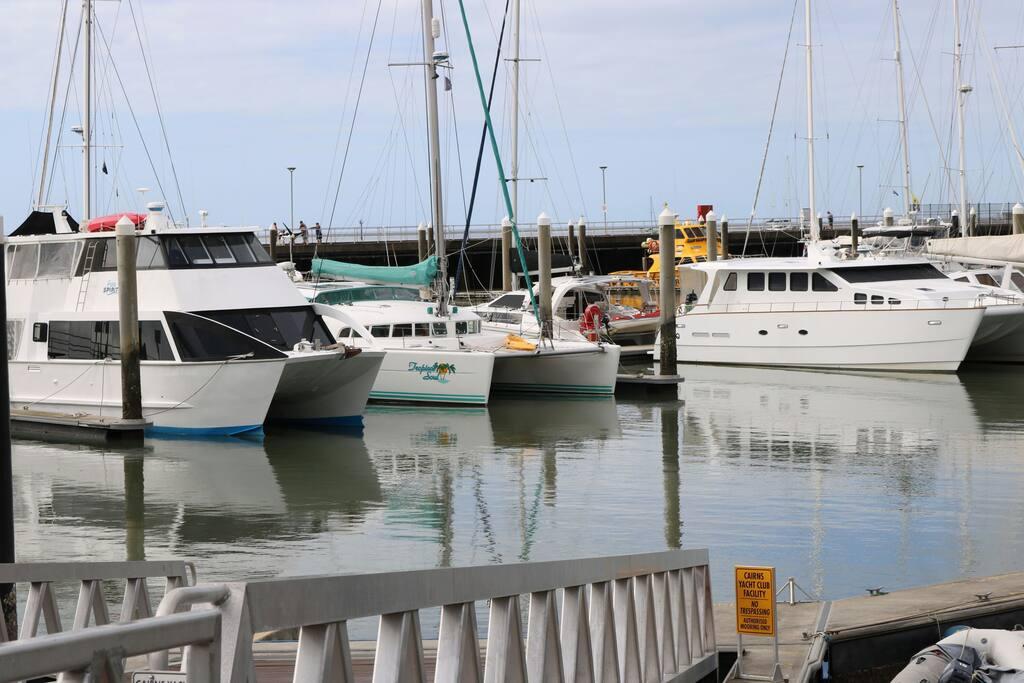 Moored in Marlin Marina Permanetly