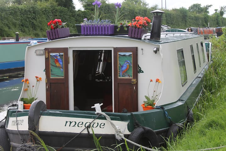 Charming Barge on Royal Canal - Maynooth - Kapal