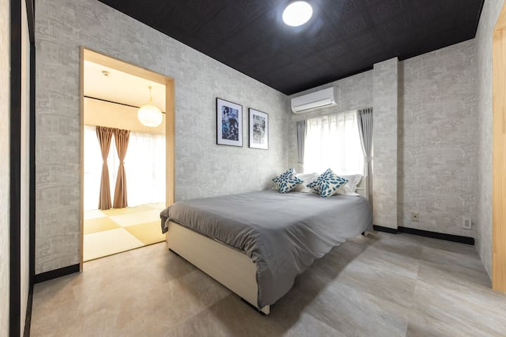 Fully Furnished Stay/Work Convenient Area+Netflix