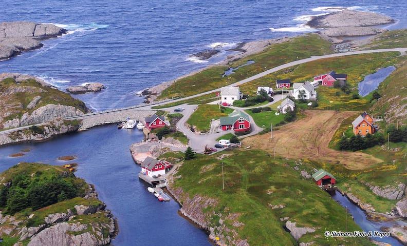 Gjørøybua 2. etasje. | Bulandet langt vest i havet