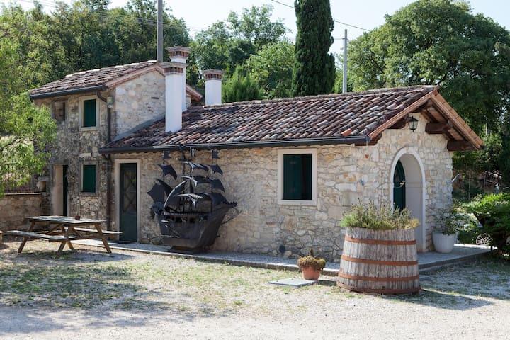 Il rifugio del pensatore - nei Colli Berici - Villaga - House