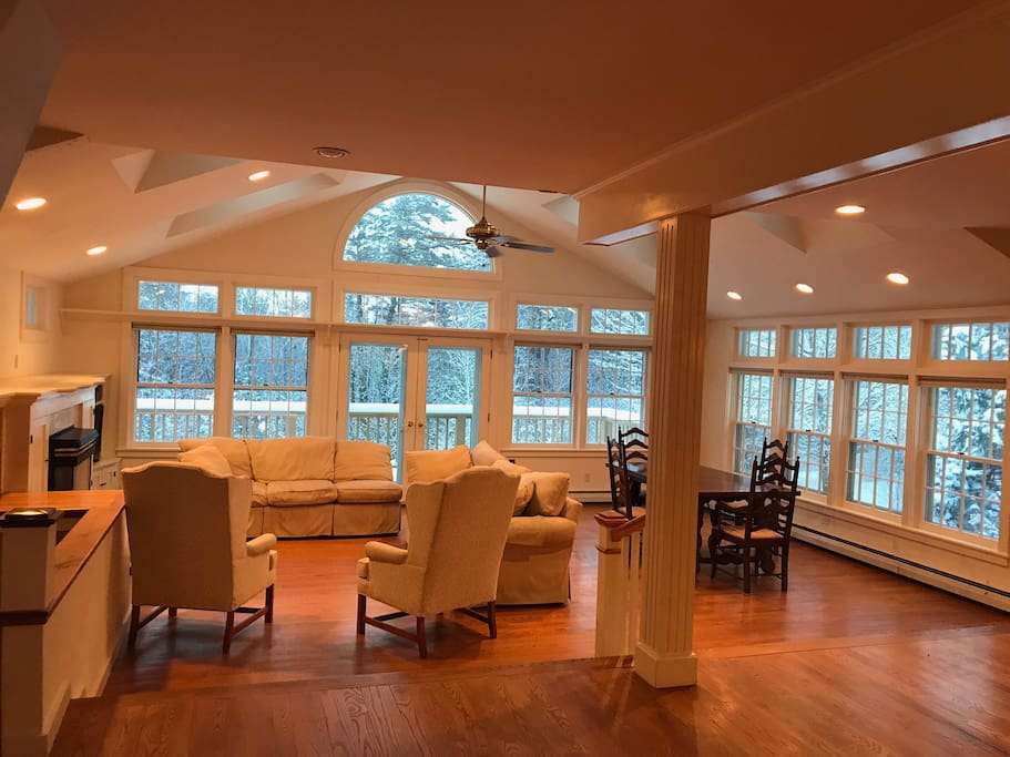 Great Room with Formal Dining Area