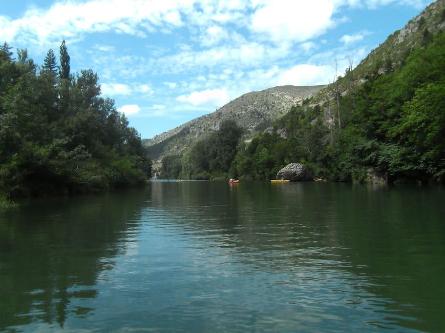 gorges du Tarn canoê peche rando