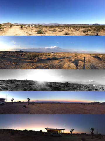 Some panoramas from around the property