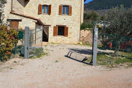 Assisi, parco del monte Subasio