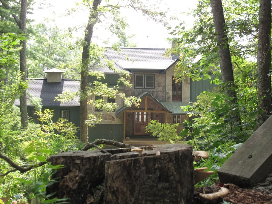 Mountain home with awesome views houses for rent in for Asheville mountain homes