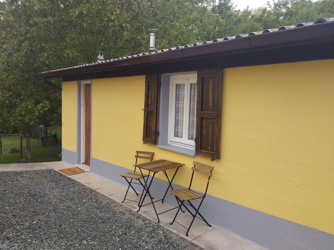 Cabin Casa Molinari awaits you!