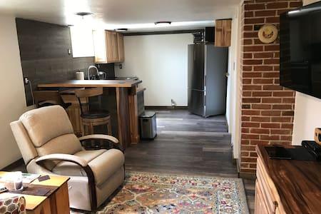 Garden Level Apartment—Private Entrance