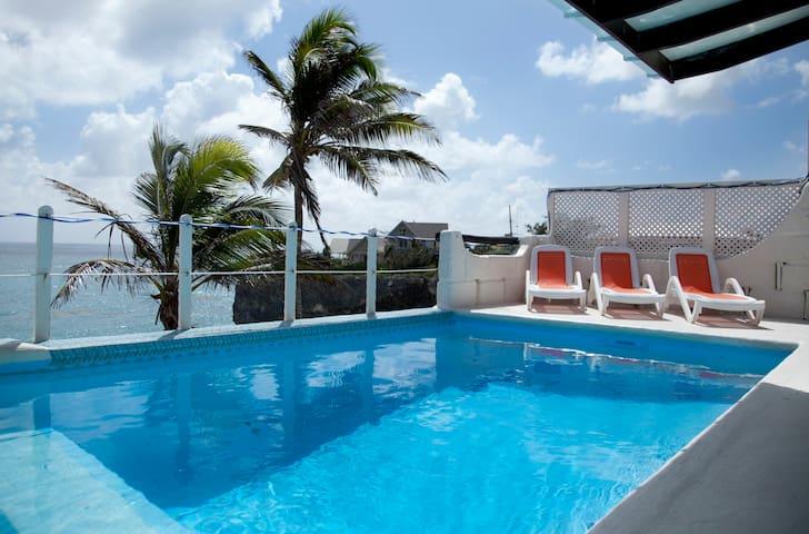 Ocean Front Villa W/ Pool Nr Crane - Ocean City