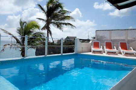 Ocean Front Villa W/ Pool Nr Crane - 大洋城