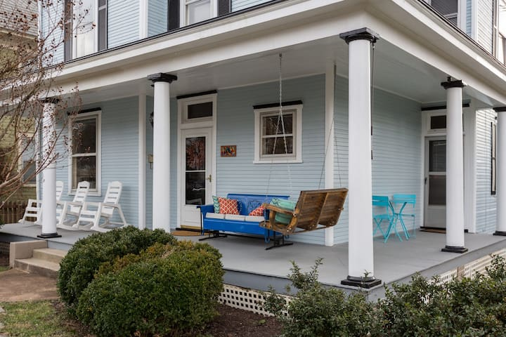 Affordable and Stylish near Downtown Super Clean! - Roanoke - Haus