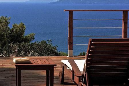 Villa face à la mer, superbe vue, idéal 2 familles - Rayol-Canadel-sur-Mer