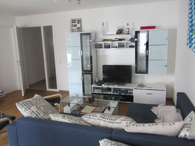Möbliertes Zimmer in 84 sqm Whg - Freiburg - Huoneisto