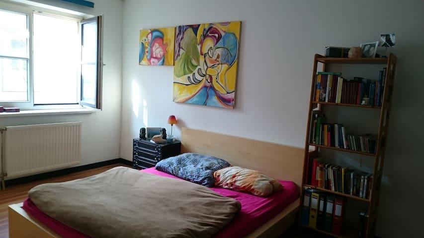 Central,quiet room in charming loft - Vienna - Bed & Breakfast