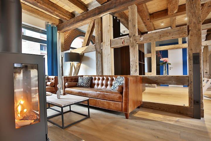 Appartement Sternwitten m. Terrasse - Stralsund