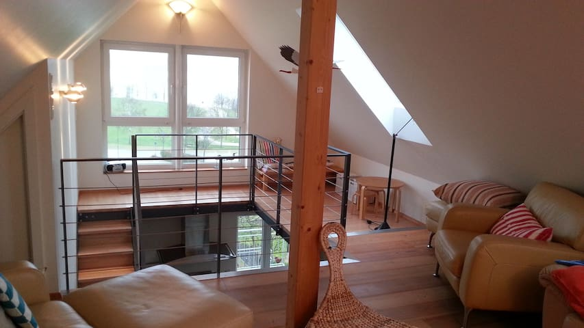 Seeblick Wohnung auf 2 Etagen, 2 SZ - Pleinfeld - Flat