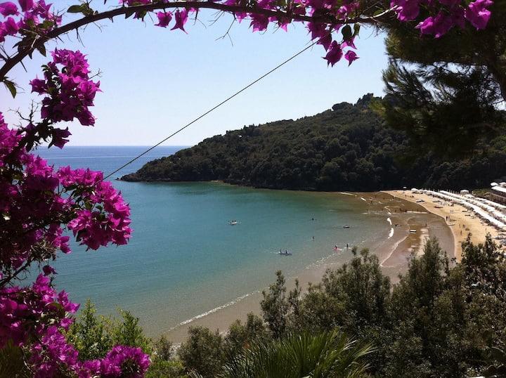 Villa sulla spiaggia tra Gaeta e Sperlonga
