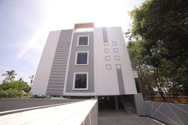 1BHK located in Pondicherry along the Coast