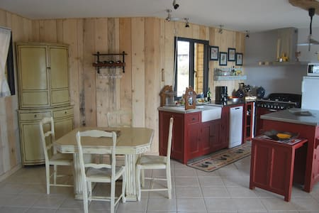 maison en bois proche de sarlat - nadaillac