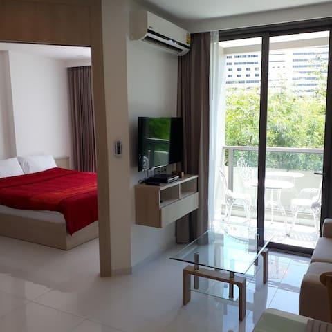 Luxury 1 Bedroom Condominium Free WIFI & Cable TV