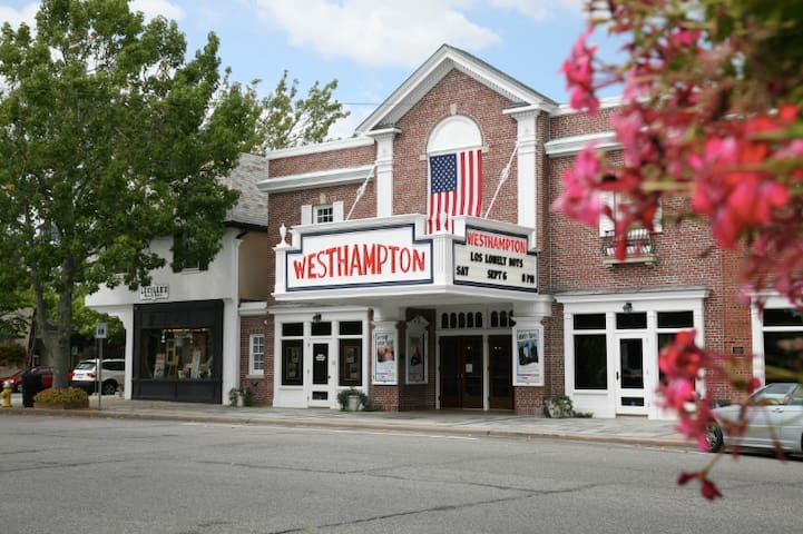The Westhampton Beach Performing Arts Center, presenting world-class performing arts, music, dance, comedy and cinema from around the world.  76 Main Street, Westhampton Beach 11978.   Check latest events at https://whbpac.org/