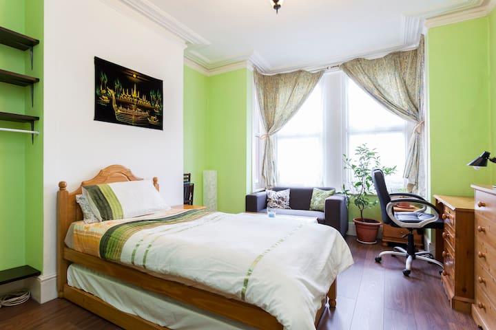 Spacious bright room - South London - London - Apartemen