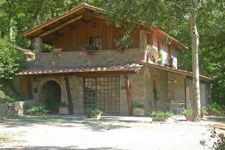Casina Vereno - Cortona - Casa de camp