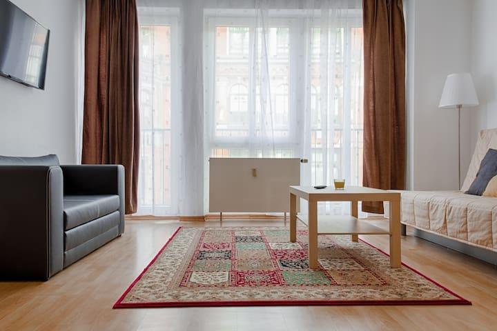 preisgünstig im Zentrum, Wifi, TG - Lipsia - Appartamento