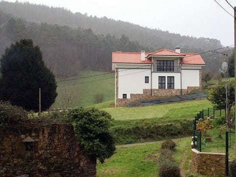 Casa Asturias San Martin de Luiña cerca Cudillero